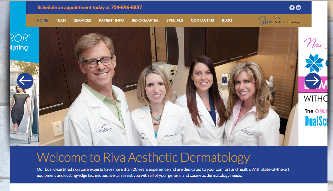 riva-dermatology-website
