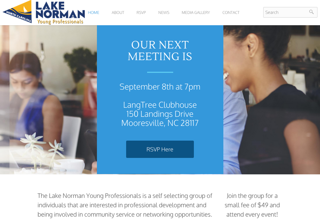 lake-norman-young-professionals-website